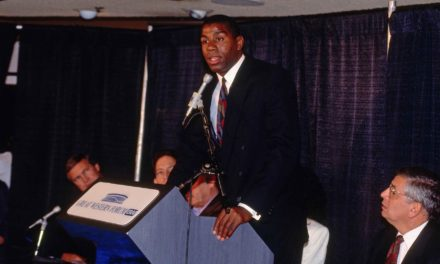 Flashback Friday: Magic Johnson announces he has HIV