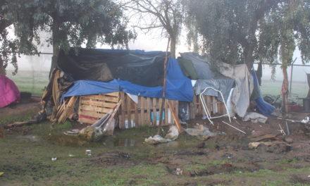 "Merced's ""Tent Row"" Homeless Encampment"