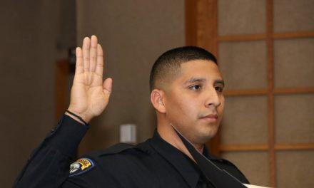 New Merced PD Officer Sworn In