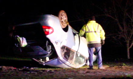 Vehicle Overturns in Merced County