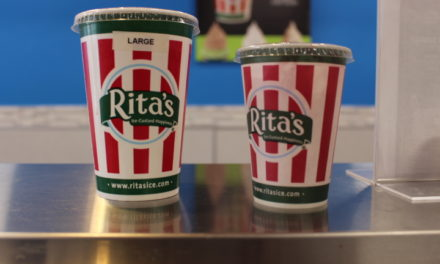 Rita's giving away free ice for the first day of Spring