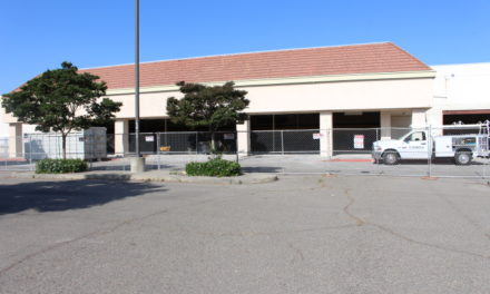 Renovations underway at the former Orchard Supply Hardware building in Merced