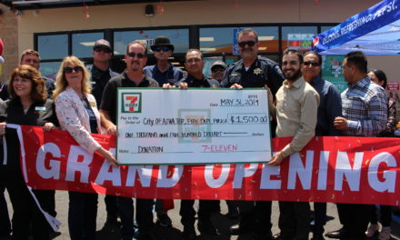 7-Eleven and 76 Gas Station celebrate official grand opening in Atwater
