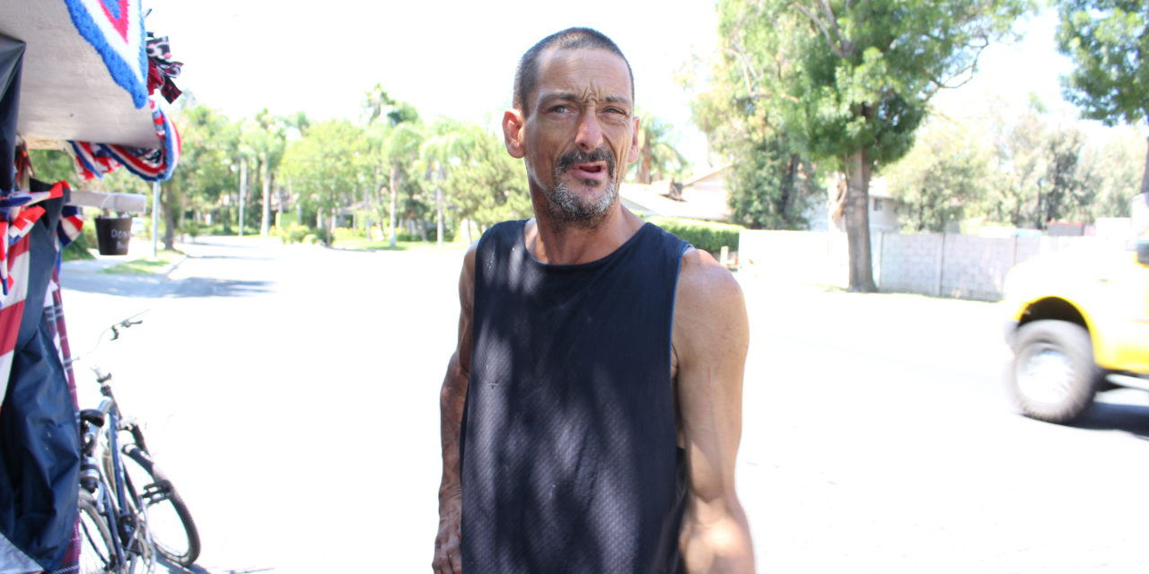Merced man says he chooses to be homeless