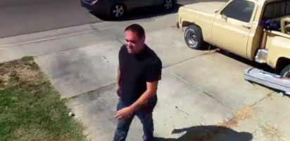 Suspected thief caught on camera in Winton