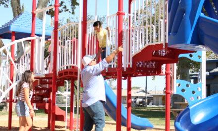 Livingston Memorial Park gets new playground